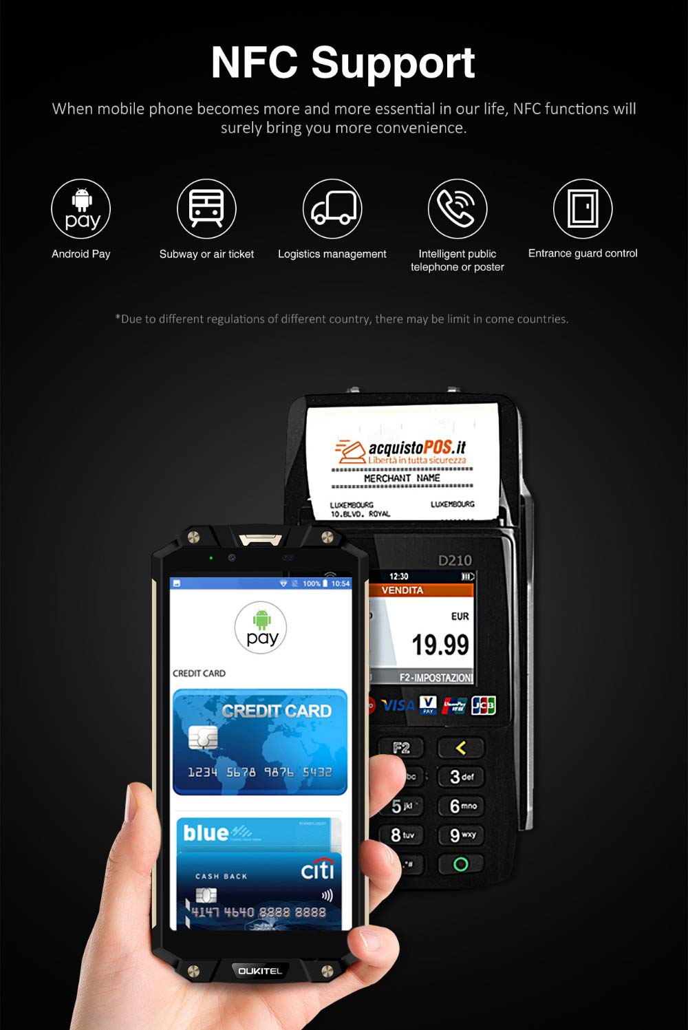 Oukitel WP2 Rugged Mobile Phone