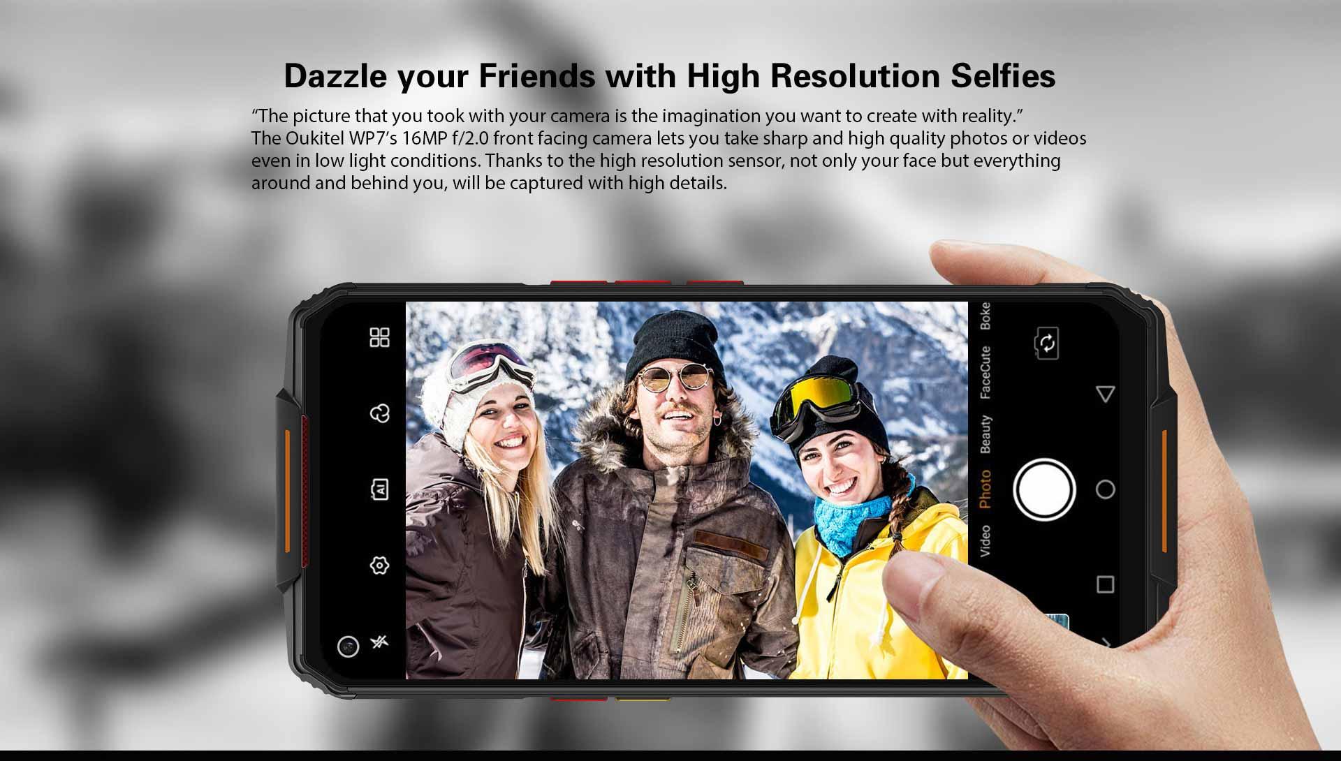 Oukitel Wp7 Rugged Phone