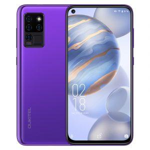 Buy Oukitel C21 smartphone Purple