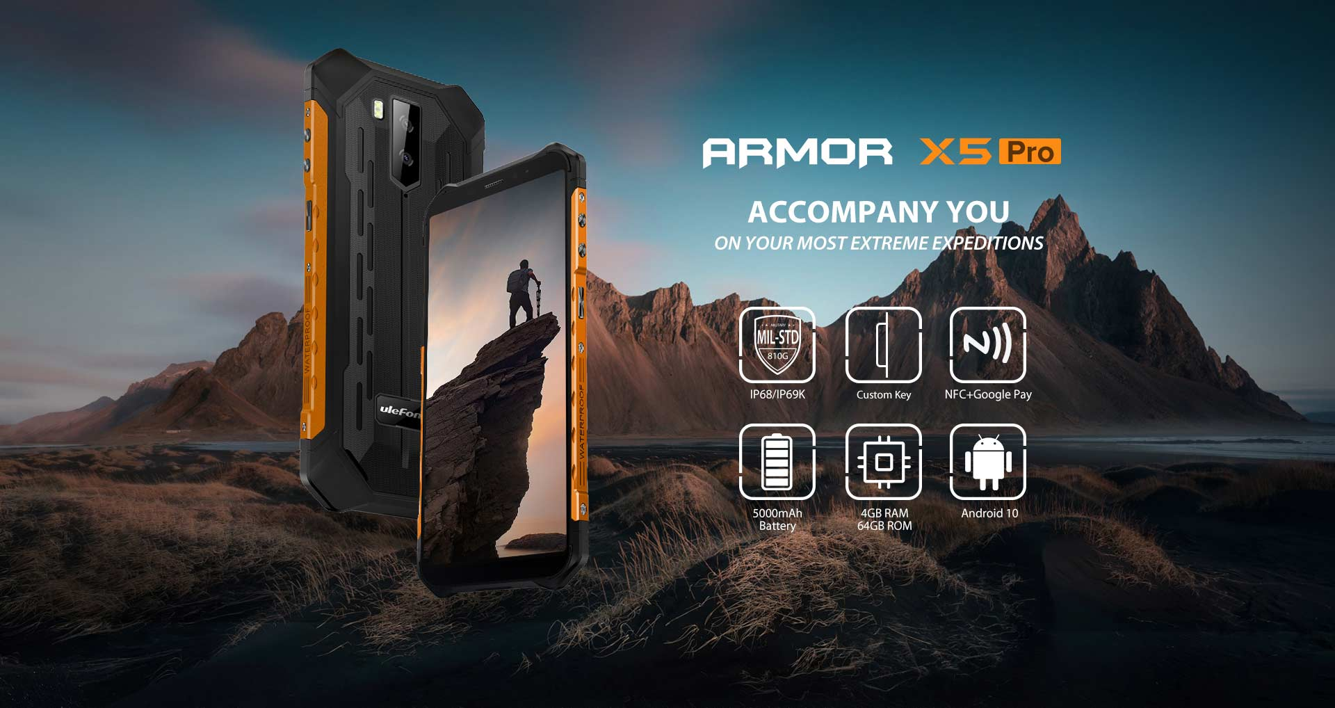 Ulefone Armor X5 Pro Specifications