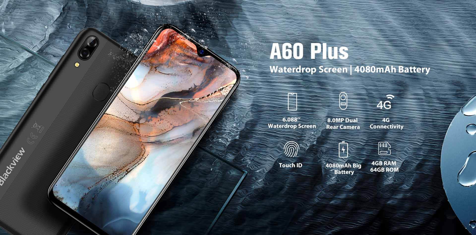 Blackview A60 Plus specs